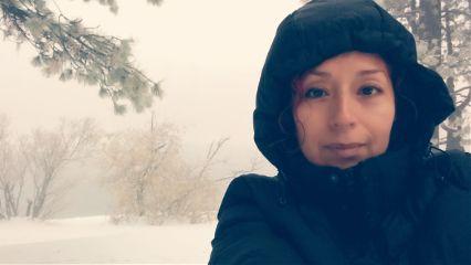 freetoedit portrait poeple snowday snowwhite