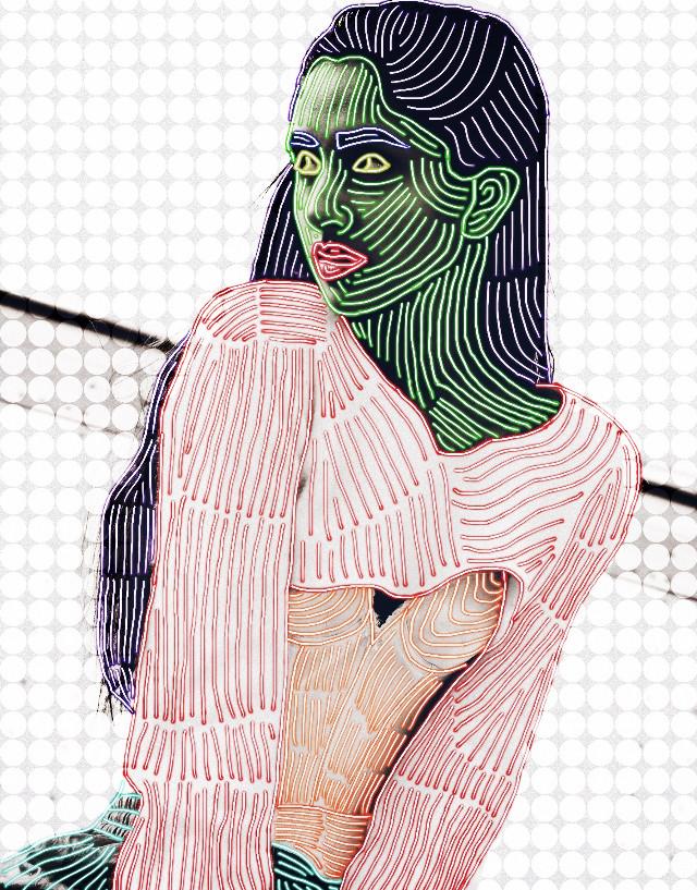 #wapneonoutlines #FreeToEdit #interesting #art #smash #hits #unconventional