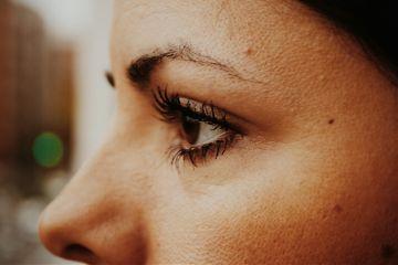 photography eye woman