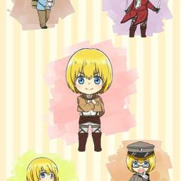 anime phonewallpaper attackontitan arminarlert snkarmin