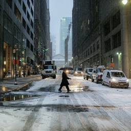 grittystreet snowstorm nyc nycbuildings snow urban streetphotography live street umbrella usa fuji cold camera