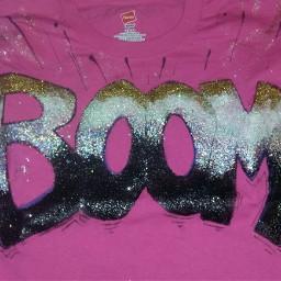 glitter handmade tshirt xmas2016