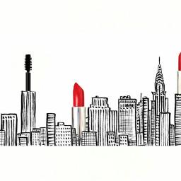 freetoedit redlipstickremix lipstick cityscape dailyremixmechallenge