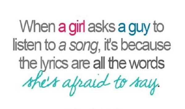 Lyrics Love Quotes girl guy bored LoveQuotes...