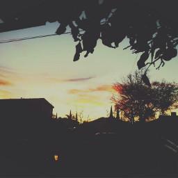 shadows sunset freetoedit