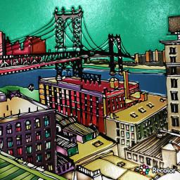 recolor newyorkcity freetoedit