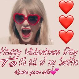 taylorswift selenagomez valentinesday2017 happyvalentinesday arianagrande