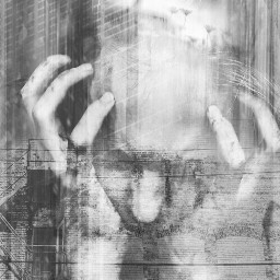 darkart darkness darkside artis artisticportrait draw drawing photomanipulation manipulation stepbystep doubleexposure doublexposure layers layersonlayers fx fxtools woman people emotions sadness conceptual myart myartwork wall bricks clipart allpicsart nofreetoedit