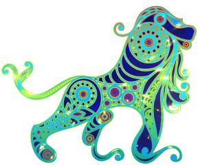 art galaxy zodiac leo colorful freetoedit