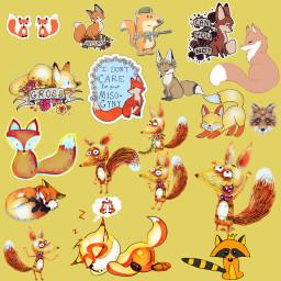 FreeToEdit ftestickers fox package