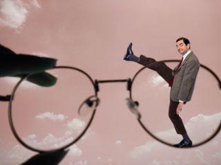 freetoedit glasses mrbean mrbeanstickerremix