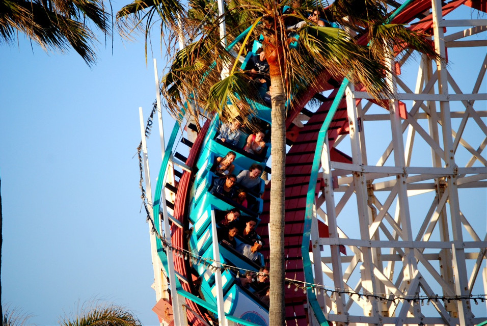 #emotions #happiness #people #photography #rollercoaster #sandiego #missionbeach @sara_e