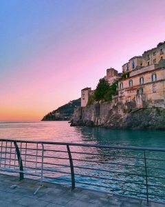 sunset amalficoast sea seaside photography