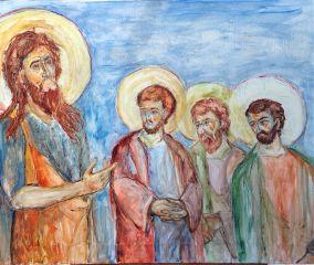 art sv_jovan saint_john painting serbia